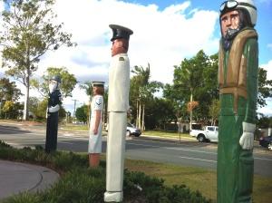 Navy totem pole park